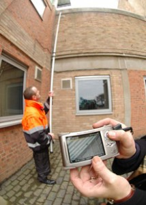 gutter camera inspection
